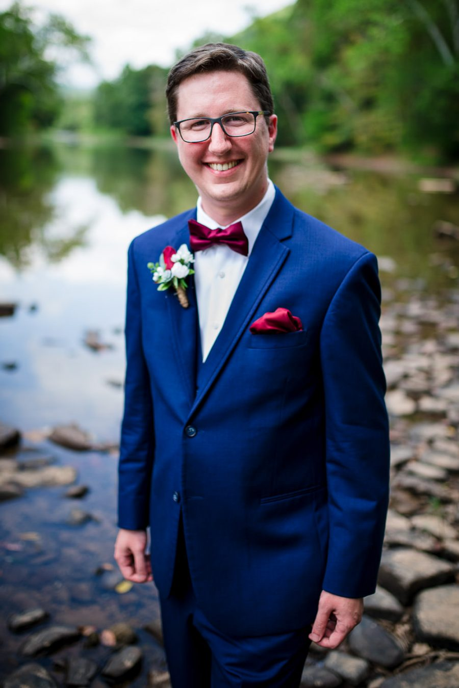groom environmental river portrait